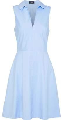 Theory Stretch-Cotton Poplin Dress