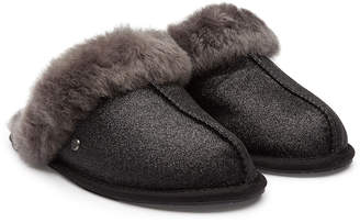 950157bac at STYLEBOP.com · UGG Scuffette Sparkle Slippers with Shearling Insole