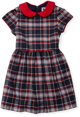 Busy Bees Peter Pan Bow Dress