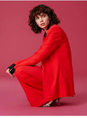Diane von Furstenberg Long Sleeve Collared Blazer