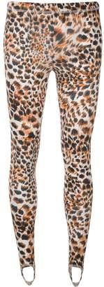 Nanushka leopard print leggings
