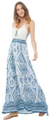 Hale Bob Irelyn Crochet Maxi Dress