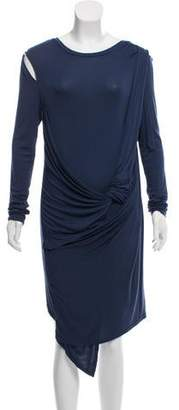 Kimberly Ovitz Cobalt Long Sleeve Dress