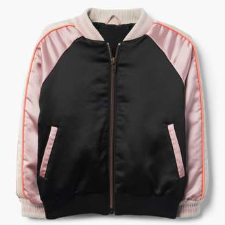 Gymboree Satin Bomber Jacket