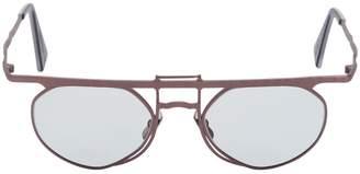 Double Bridge Round Sunglasses