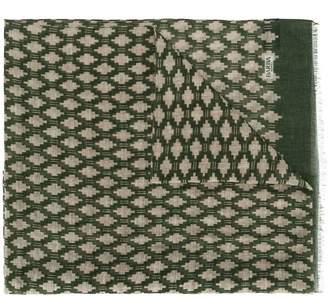 Barba floral print scarf