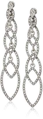 ABS by Allen Schwartz Navette Linear Drop Earrings