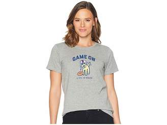 Life is Good Game On Rocket Crusher T-Shirt