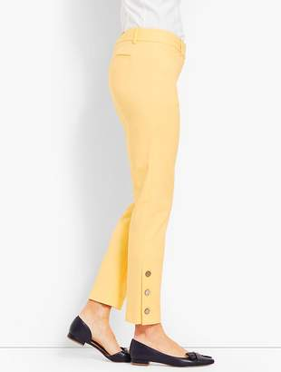 Talbots Hampshire Ankle Pant - Button-Cuff