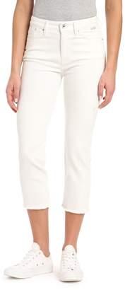 Mavi Jeans Niki Raw Hem Crop Skinny Jeans