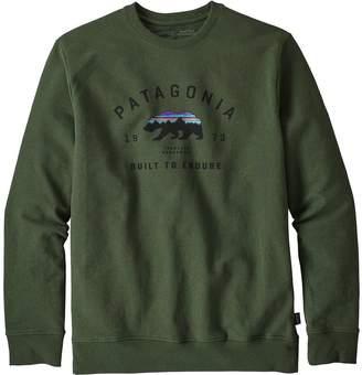 Patagonia Arched Fitz Roy Bear Uprisal Crew Sweatshirt - Men's