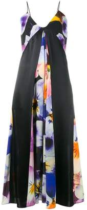 Christopher Kane pansy print cami dress