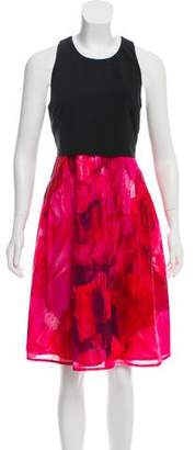 Thakoon Printed Midi Dress