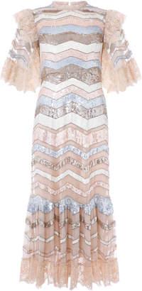 Needle & Thread Alaska Sequin Midi Dress