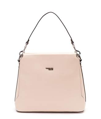 Trussardi Berry Faux Leather Hobo Bag