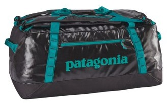 Patagonia Black Hole Water Repellent Duffel Bag - Black $149 thestylecure.com