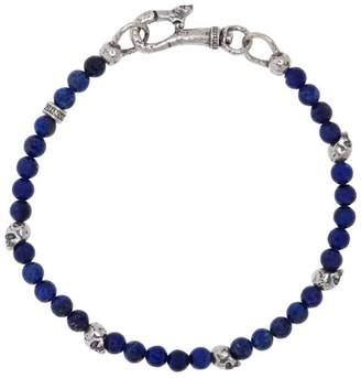 Mercer Sterling Silver & Lapis Bracelet