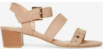 Dorothy Perkins Womens Taupe Samantha Studded Sandals