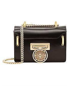 Balmain Baby Box Leather Flap Bag
