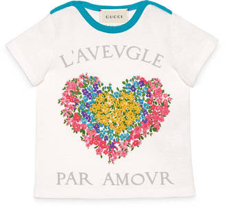 Baby corsage print t-shirt $135 thestylecure.com