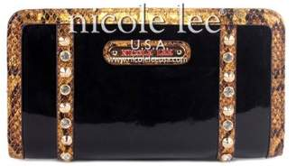 Nicole Lee Grechen Rhinestone Studded Wallet Collection