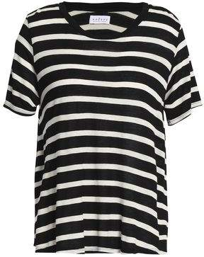 Velvet by Graham & Spencer Tiana Striped Jersey T-Shirt