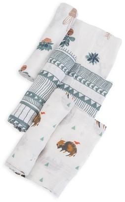 Little Unicorn 3-Pack Cotton Muslin Blankets $38 thestylecure.com
