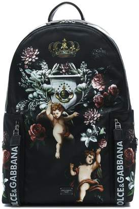 Dolce & Gabbana angels printed backpack