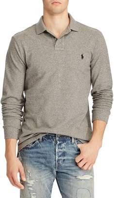 Polo Ralph Lauren Custom Slim-Fit Long-Sleeve Cotton Polo