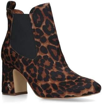 Kurt Geiger London Raylan Leopard Print Boots 70