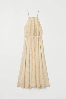 H&M Patterned Dress - White