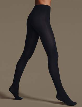 1972227878e M S CollectionMarks and Spencer 4 Pair Pack Body Sensor Opaque Tights