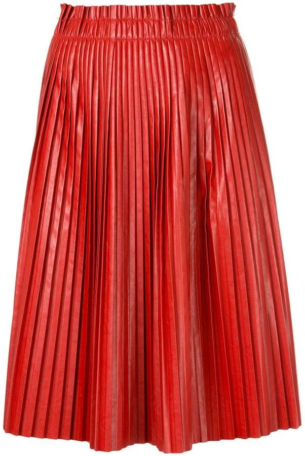 We11done pleated skirt