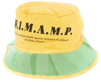 Bobo Choses clear brim sun hat