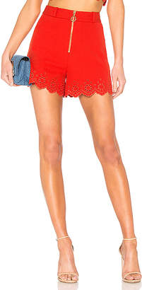 Derek Lam 10 Crosby Eyelet High Rise Short
