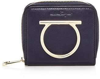 Salvatore Ferragamo Leather Zip Wallet