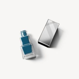Burberry Nail Polish - Teal Blue No.427 $23 thestylecure.com