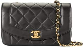 Chanel Pre-Owned Diana quilted chain shoulder bag