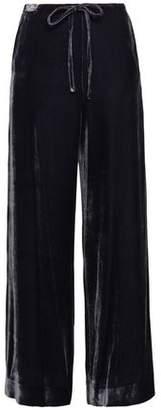 McQ Velvet Wide-leg Pants