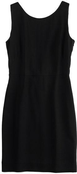 Alexander Wang Silk Crepe Slim Dress