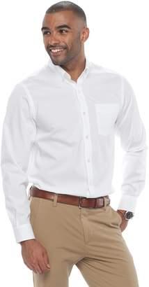 Dockers Men's Classic-Fit Comfort Stretch Button-Down Shirt