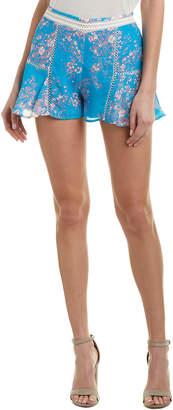 Karina Grimaldi Ivy Silk-Blend Short