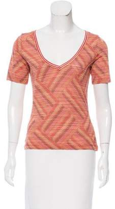 Missoni Stripe Knit Top