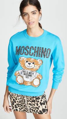 Moschino Bear Scribble Sweater