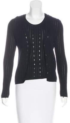 Rena Lange Virgin Wool Cardigan Set