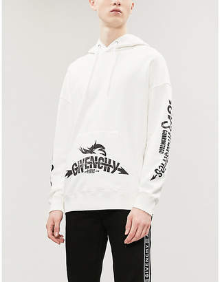 Givenchy Logo-print cotton-jersey hoody