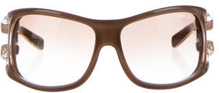 Jimmy ChooJimmy Choo Embossed Square Sunglasses