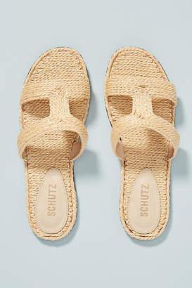 Schutz Tammya Slide Sandals
