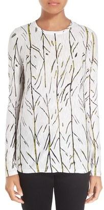 Women's Proenza Schouler Print Tissue Tee $290 thestylecure.com