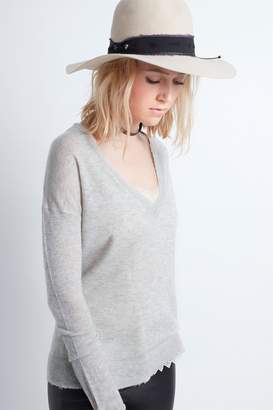Zadig & Voltaire Happy Cp Cashmere Sweater
